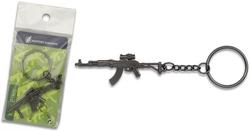 Porte-clé gun en acier inox - Design original3