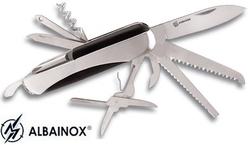 Couteau multifonction acier 11 outils, pince - Albainox