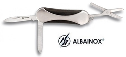 Couteau multifonction acier 3 outils, pince - Albainox