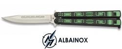Balisong couteau papillon 23cm ALBAINOX - Design Matrix
