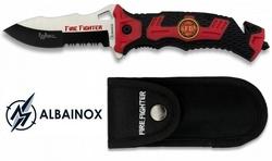 Couteau pliant POMPIER sapeur 21,5cm - ALBAINOX
