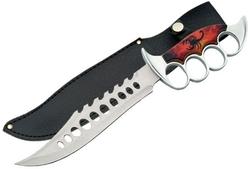 Poignard Scorpion antidérapant 33cm - Couteau design