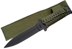 Poignard dague tactique 26,5cm militaire - Full tang