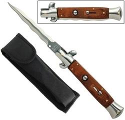 Grand couteau Italien automatique cran d'arret - Lame design