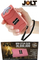Taser shocker LED rose - Tazer puissant 36 000 000 volts !