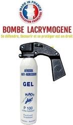 Extincteur bombe lacrymogène 300ml GEL CS - aérosol lacrymo