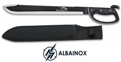 Machette black panther 61,5cm coupe-coupe garde main
