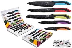 Coffret couteaux PRADEL couteau de cuisine table - Pierre noire couleur