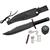 Poignard style Rambo kit de survie - couteau5