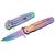 Couteau pliant rainbow - revêtement titane