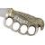 Poignard couteau BOWIE 38cm - Design Aigle en laiton.