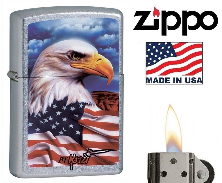 Usa Briquet Américain Zippo Drapeau Officiel Aigle qqTxZgXOwt