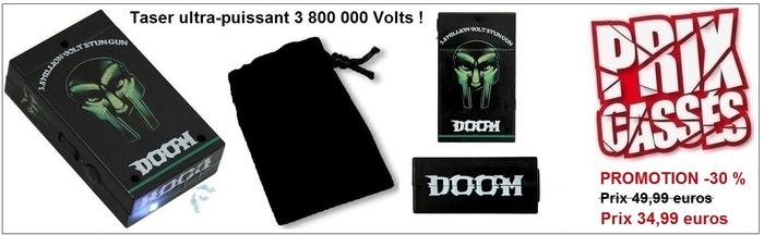 Taser DOOM promotion