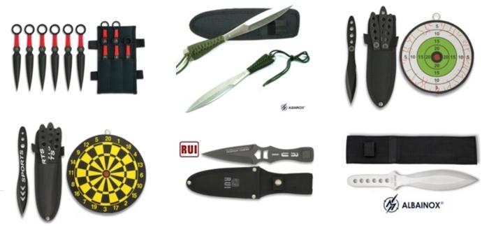 Couteau de lancer