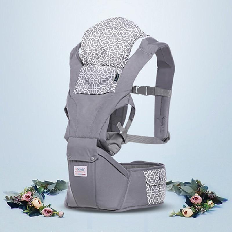 Porte-bébé physiologique respirant évolutif
