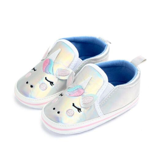 Chaussures pour bébé licorne semelle souple