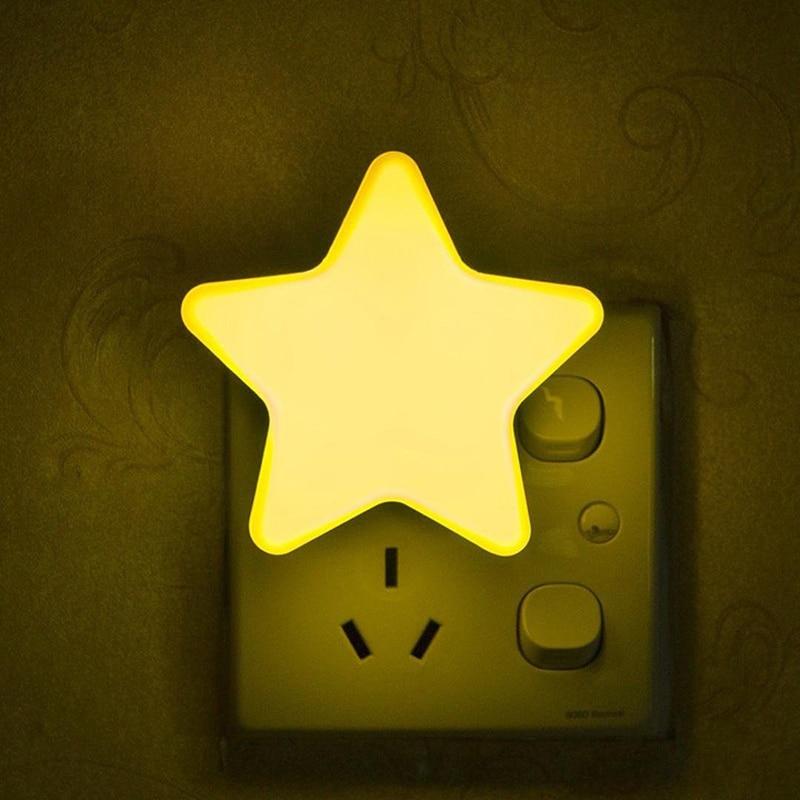 Veilleuse étoile jaune pour bébé