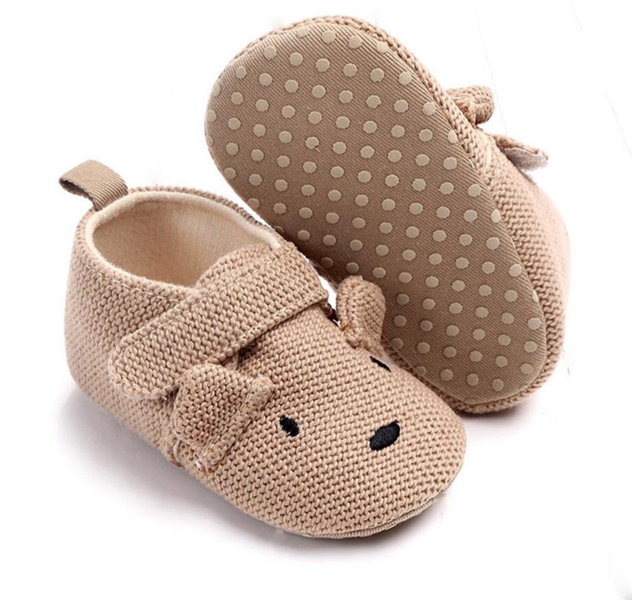 Chaussures bébé semelles souples et antidérapantes