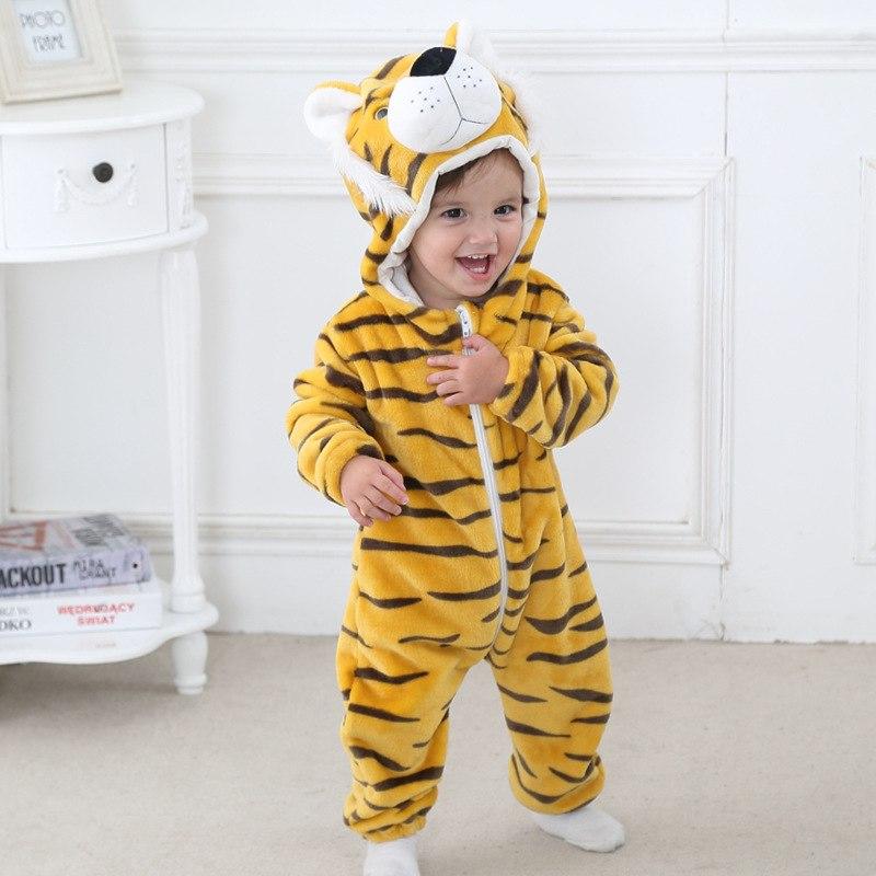 Grenouillère tigre confort pour bébé