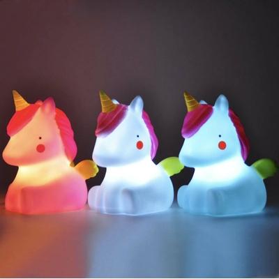 Licorne lumineuse, veilleuse licorne pour bébé