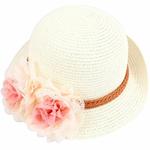 B-b-fille-enfants-enfants-mode-t-fleur-conception-paille-chapeau-de-plage-chapeau-de-paille-fille