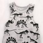 Sans-manches-dinosaures-bébé-b-b-barboteuses-pour-gar-on-enfants-coton-combinaisons-t