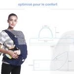 porte-bébé physiologique respirant évolutif 2