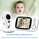 babyphone vidéo baby monitor multi-langage