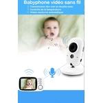 babyphone vidéo baby monitor sans fil