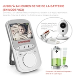 babyphone vidéo multifonctions 2