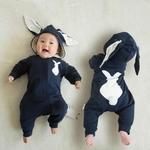 Barboteuse-bébé-queue-de-lapin-zipée-automne