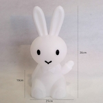 36-cm-de-Bande-Dessin-e-Lapin-Li-vre-Lapin-Lampe-Led-veilleuse-lapin-lumineux-bébé