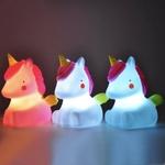 Licorne lumineuse, lampe licorne, veilleuse bébé, veilleuse licorne