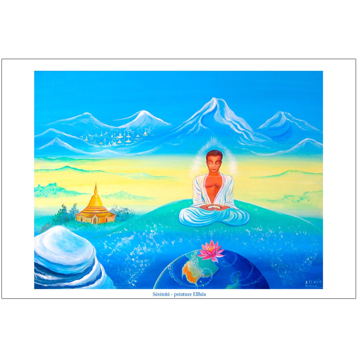 poster meditation serenite coryright ellhea-boutique-zen-style