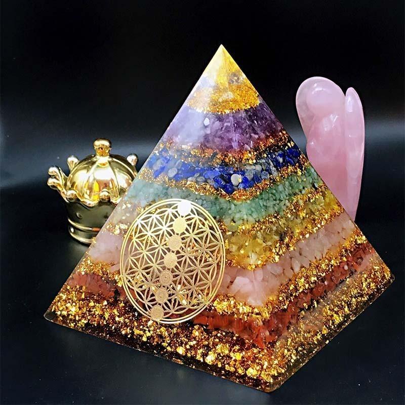 Pyramide organite 7 chakras