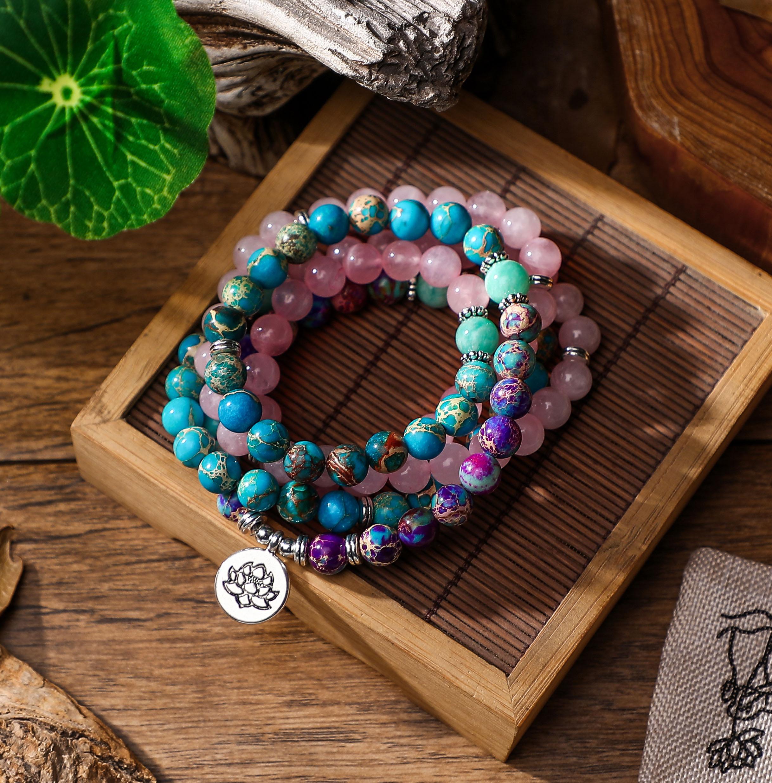 Bracelet Mala 108 perles Yoga