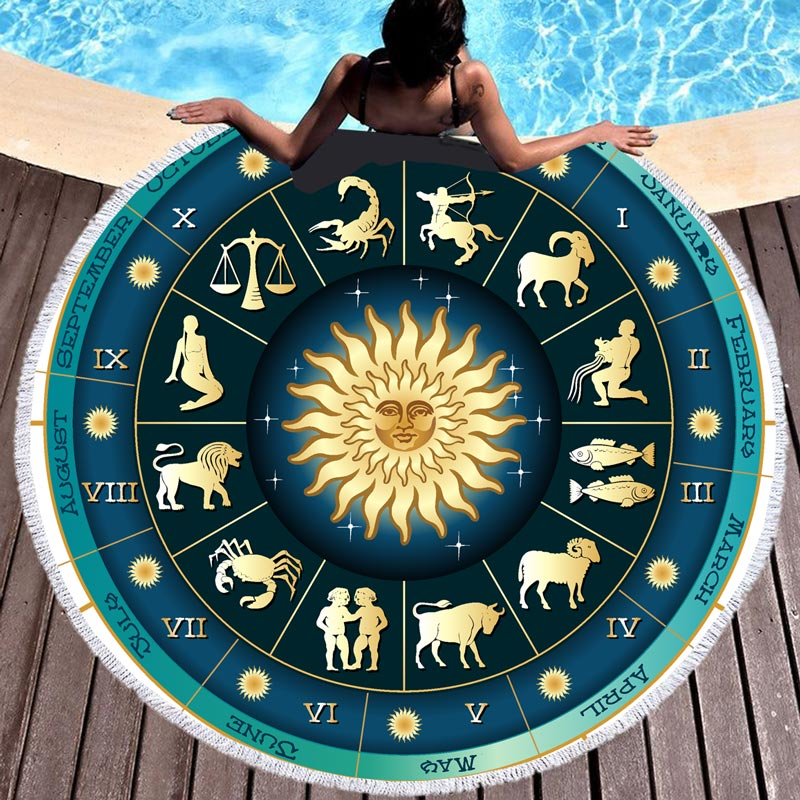 Tapis de méditation Zodiaque