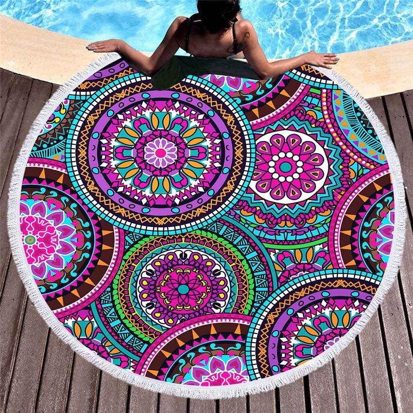 Summer-Round-Beach-Towels-Geometric-Mandala-Circle-Bath-Shower-Towel-With-Drawstring-Storage-Bag-Yoga-Mat