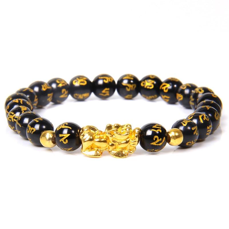 Bracelet Feng Shui richesse - homme
