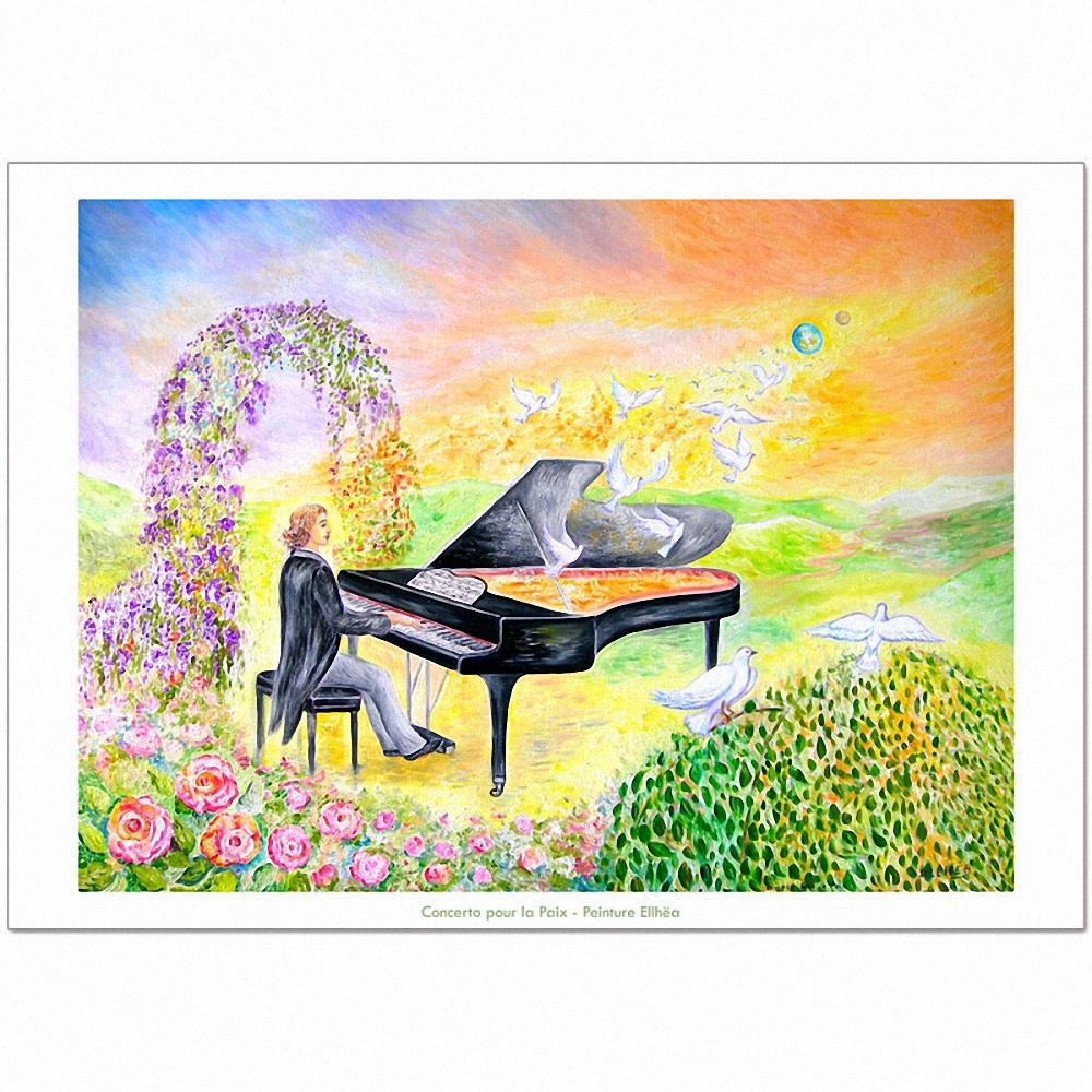 Poster Méditation Concerto pour la Paix