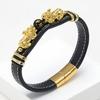 Bracelet-en-pierre-d-obsidienne-noire-pour-hommes-et-femmes-bijoux-Feng-Shui-en-or-Pixiu