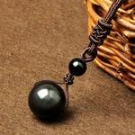 pendentif-pierre-naturelle-femme-et-homme-perle-obsidienne-noire-boutique-zen-style