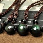 Colliers-et-pendentifs-pierre-naturelle-pour-femmes-et-hommes-obsidienne-noire-perles-arc-en-ciel-protection-boutique-zen-style