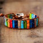 Chakra-Bracelet-en-pierres-multicolores-naturelles-équilibre-des-énergies-boutique-zen-style