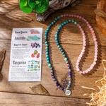 Pierre-naturelle-avec-Lotus-OM-bouddha-bracelet-breloques-pour-femmes-bracelet-108-mala-Premium-yogi-bijoux