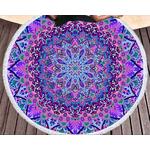 tapis violet boutique zen style