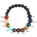 Bracelet pierre naturelle planètes solaires astrologie Boutique zen Style