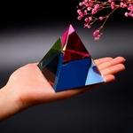 H-D-cristal-iris-pyramide-Art-verre-nergie-gu-rison-Figurine-Feng-Shui-presse-papier-maison