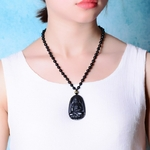 Collier-avec-amulette-avec-une-obsidienne-noire-pour-homme-et-femme-bijou-pendentif-porte-bonheur-avec