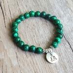 Bricolage-bijoux-faits-la-main-Malachite-Bracelet-perl-Yoga-Chakra-pri-re-Mala-bouddha-Bracelet-femmes